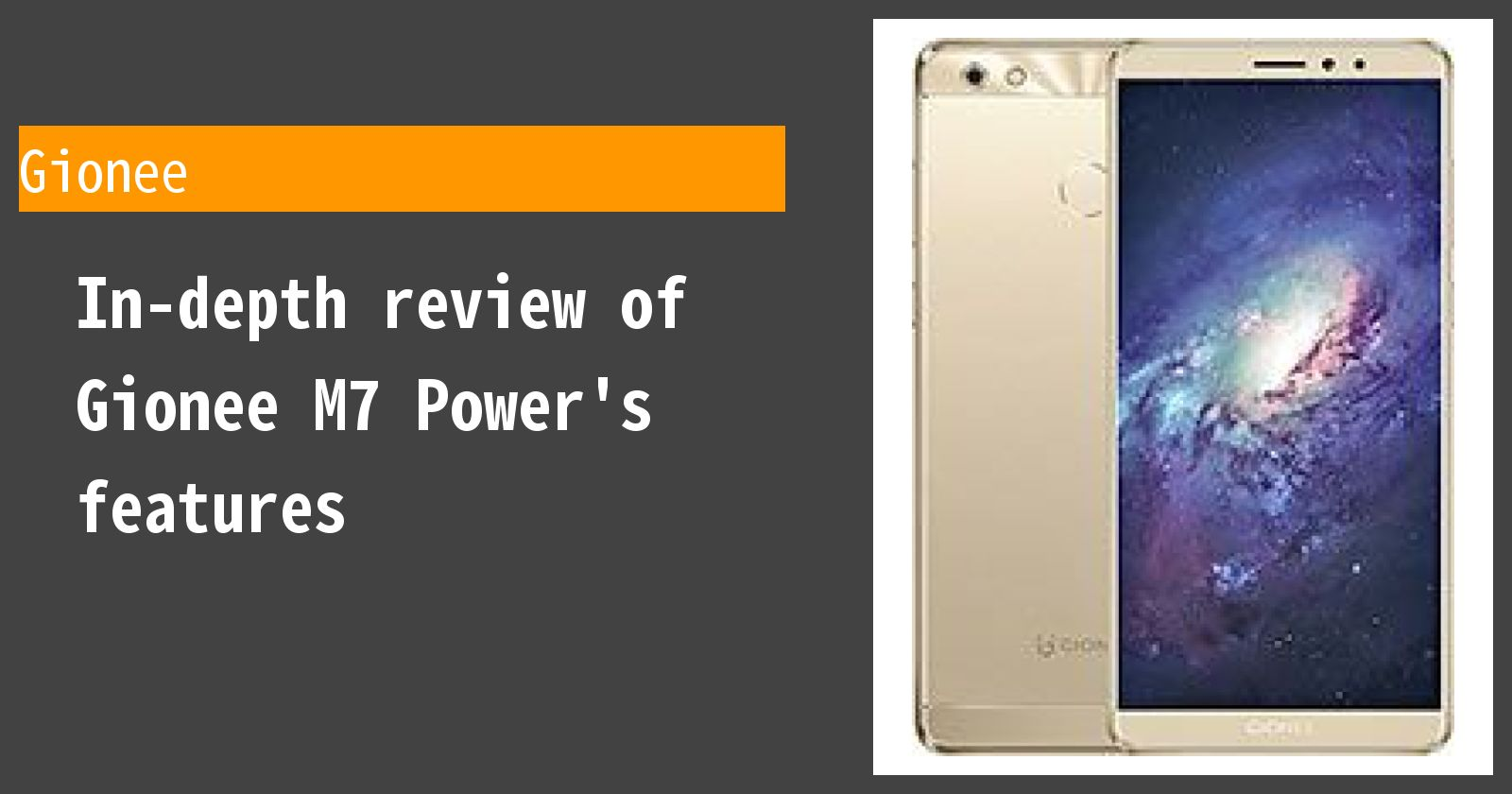 What are the advantages and disadvantages of Gionee M7 Power