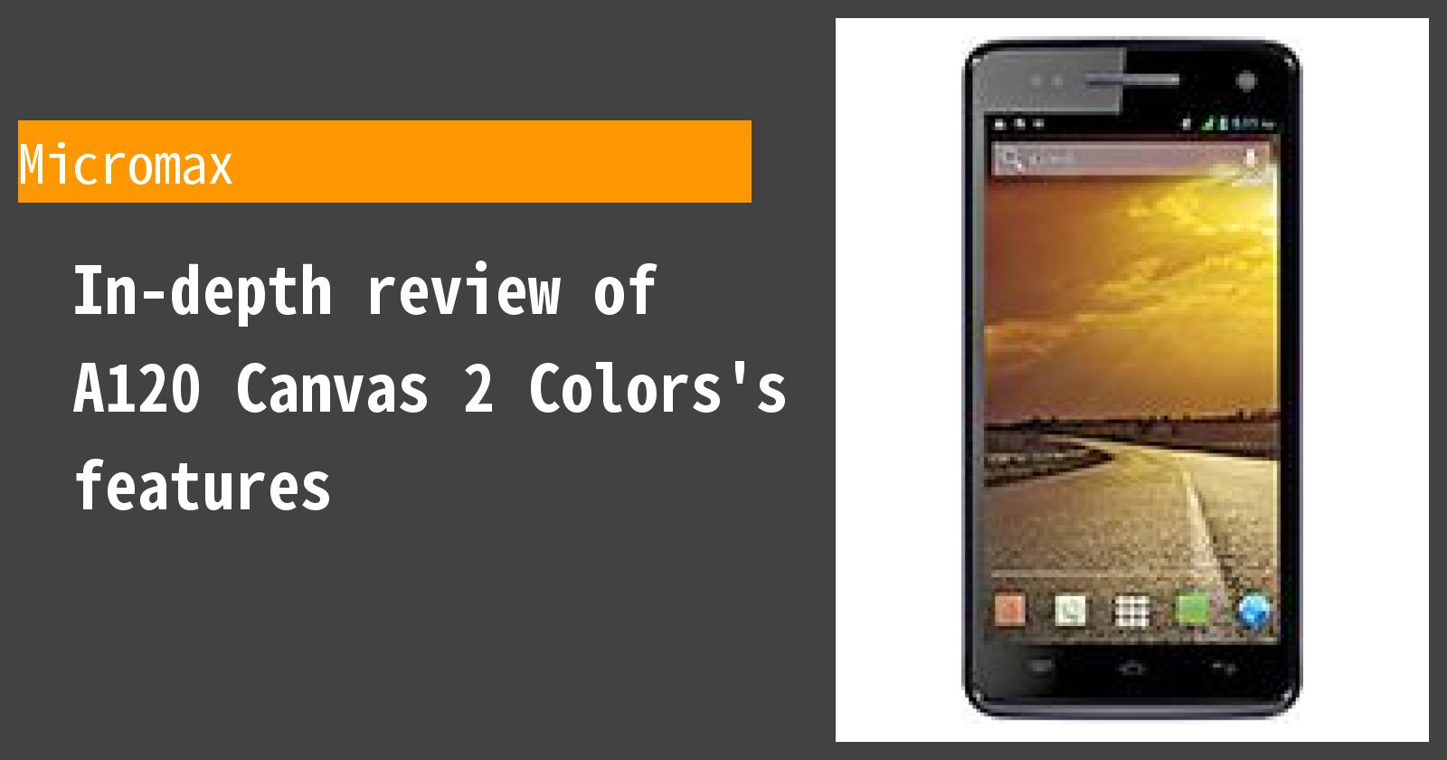 What are the advantages and disadvantages of A120 Canvas 2 Colors? A