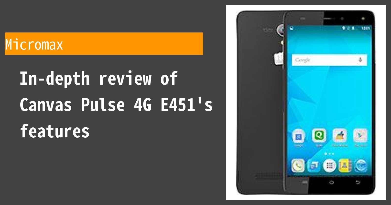 What are the advantages and disadvantages of Canvas Pulse 4G